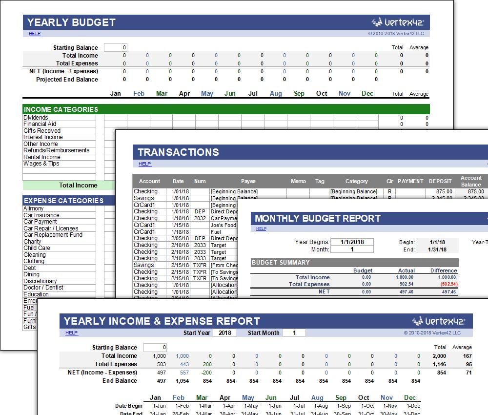 A free money management application