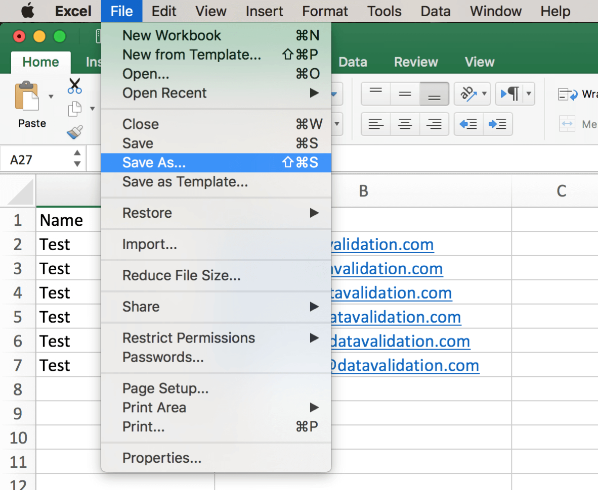 How To Open Excel Spreadsheet On Mac In List Formatting  Mac  Datavalidation