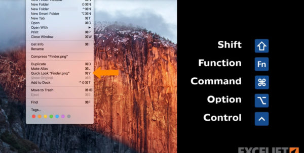 How To Open Excel Spreadsheet On Mac Intended For Excel Shortcuts On The Mac  Exceljet