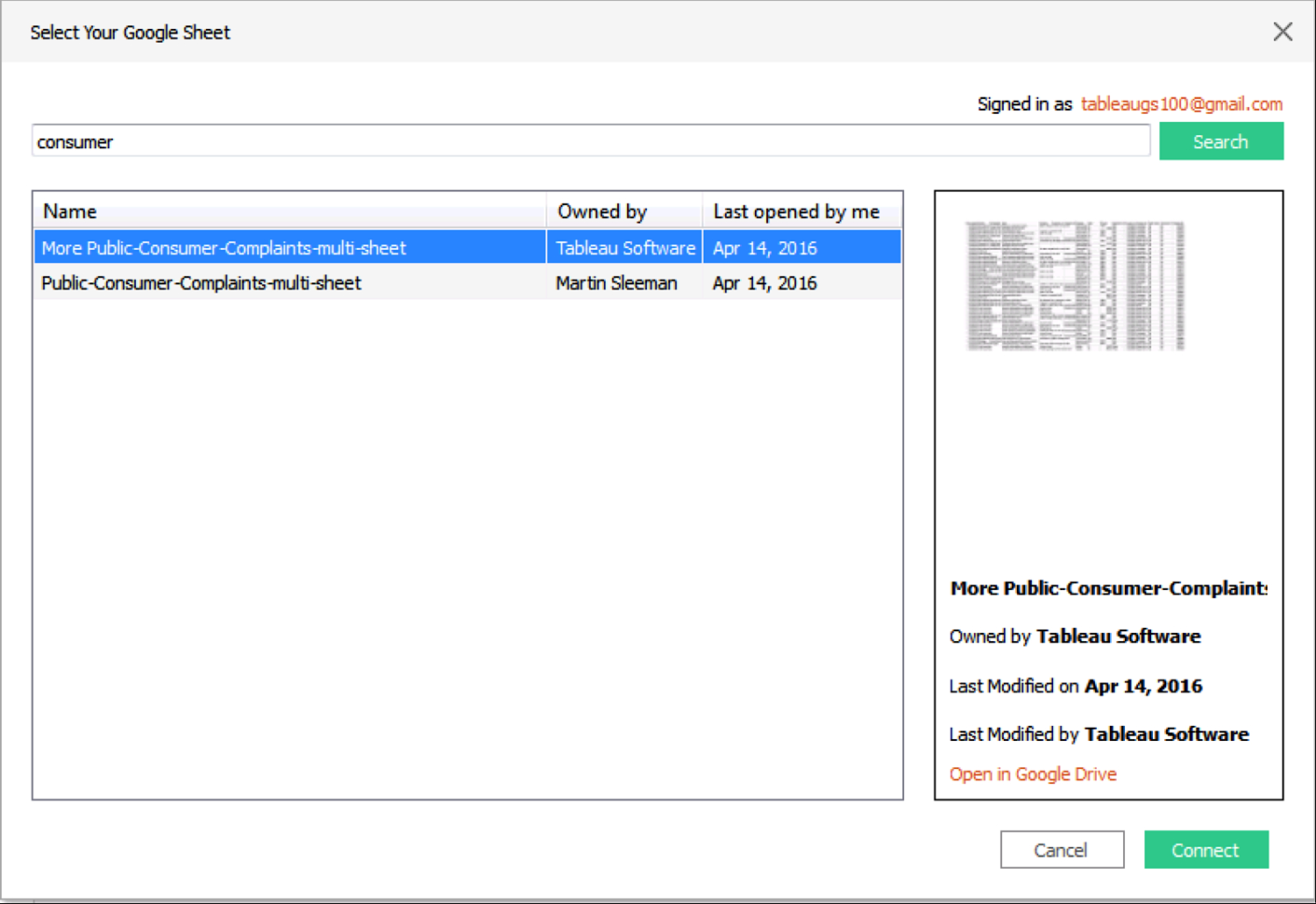 How To Open Google Spreadsheet In Google Sheets: Deeper Spreadsheet Data Analysis With Tableau