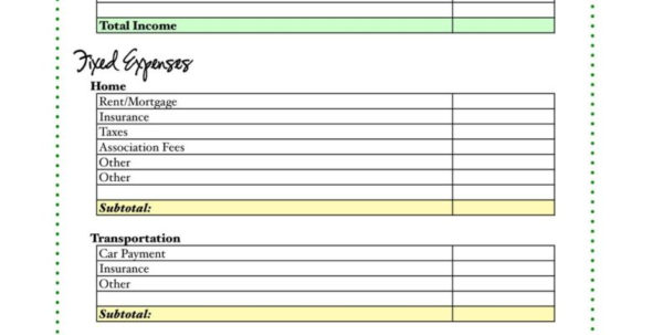 How To Organize A Budget Spreadsheet Throughout Free Home Budget Spreadsheet And Re Assess Your Bud Day 29