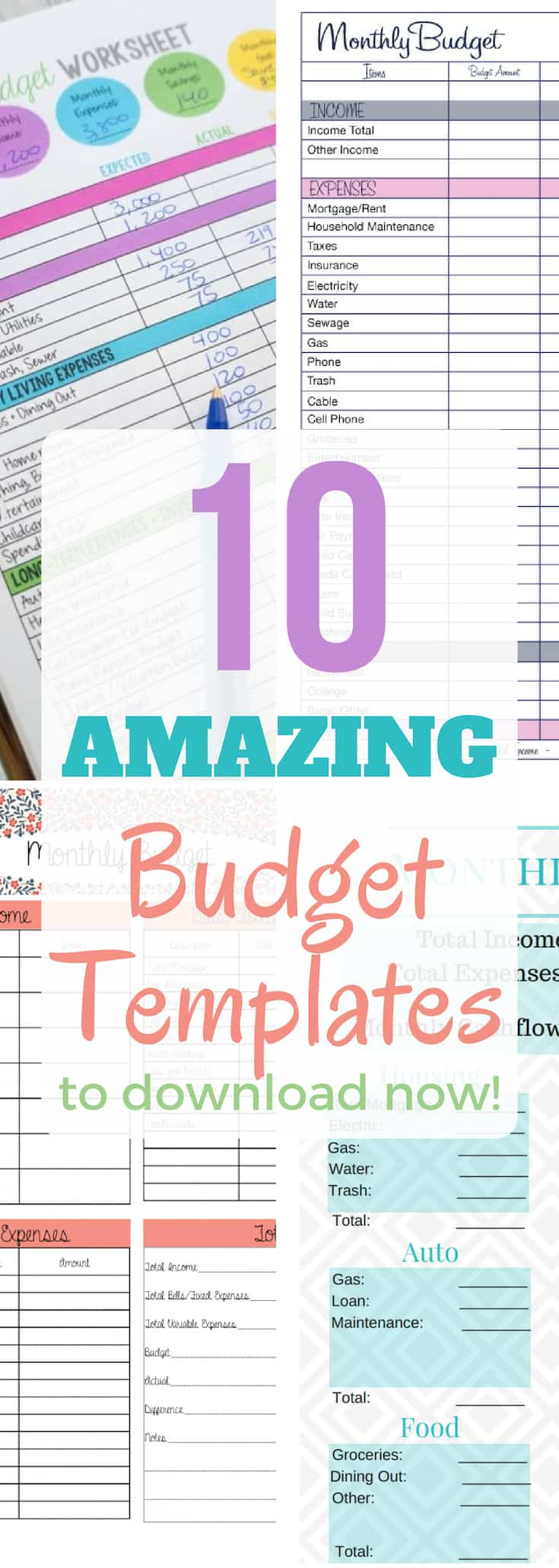 How To Organize Your Finances Spreadsheet Intended For 10 Budget Templates That Will Help You Stop Stressing About Money
