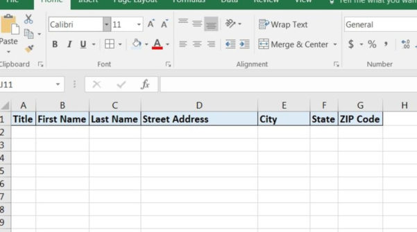 How To Print Labels From Excel Spreadsheet Regarding How To Print Labels From Excel