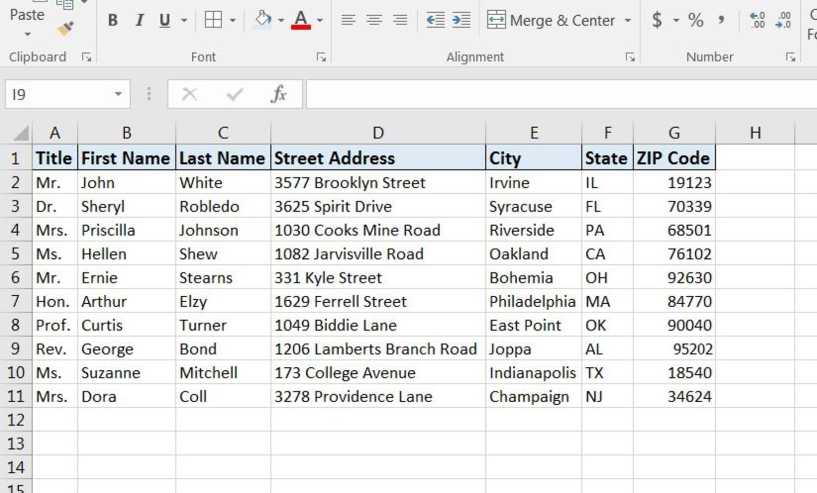 How To Print Labels From Excel Spreadsheet With Regard To How To Print Labels From Excel