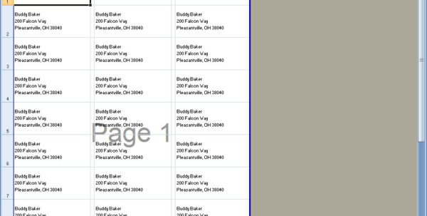 How To Print Labels From Excel Spreadsheet Within Print Labels From Excel  Kasare.annafora.co How To Print Labels From Excel Spreadsheet Spreadsheet Download