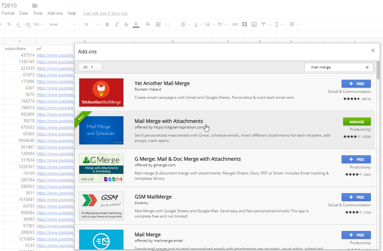 How To Send A Mass Email From Excel Spreadsheet Within 3 Free Ways To Send Personalized Mass Emails – Mail Merge