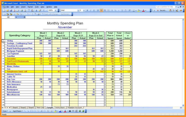 How To Set Up A Financial Spreadsheet On Excel Pertaining To 1011 Personal Finance Spreadsheet Excel  Wear2014