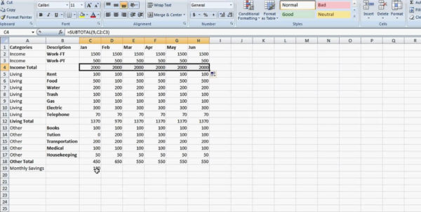 How To Set Up A Financial Spreadsheet On Excel Throughout How To Set Up A Financial Spreadsheet On Excel  Aljererlotgd