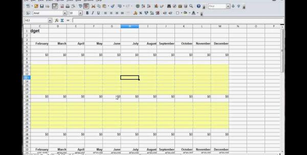 How To Set Up A Household Budget Spreadsheet Regarding How To Do A Household Budget Spreadsheet  Aljererlotgd