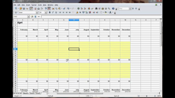 How To Set Up A Household Budget Spreadsheet Regarding How To Do A Household Budget Spreadsheet  Aljererlotgd