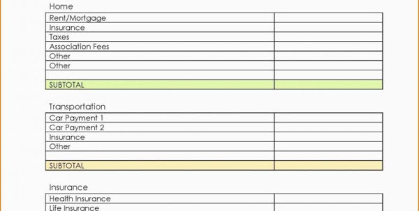 How To Set Up A Household Budget Spreadsheet With Regard To Make A Household Budget Spreadsheet Nice Printable Bud Templates Nz