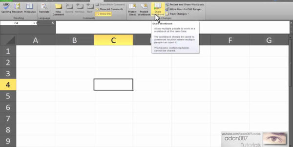 How To Share A Spreadsheet Pertaining To Share Excel Spreadsheet Of Excel Enable Shared Workbook – Theomega.ca