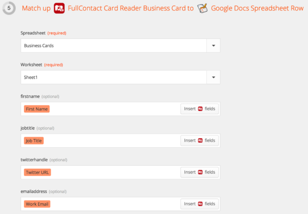 How To Spreadsheet Inside How To Scan Business Cards Into A Spreadsheet