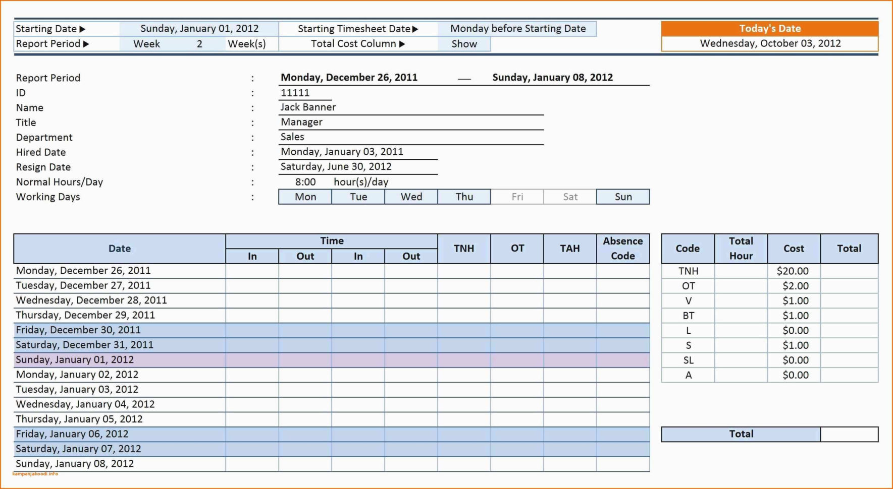 How To Track Employee Performance Spreadsheet Pertaining To Time Off Tracking Spreadsheet Sample Worksheets Employee Paid Free