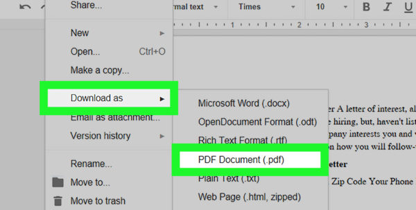 How To Turn An Excel Spreadsheet Into A Fillable Pdf Within How To Make Pdfs Editable With Google Docs: 11 Steps