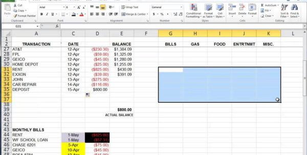How To Use A Spreadsheet To Budget Within How To Use Spreadsheet For Budget Best Microsoft Excel Budgeting How To Use A Spreadsheet To Budget Spreadsheet Download