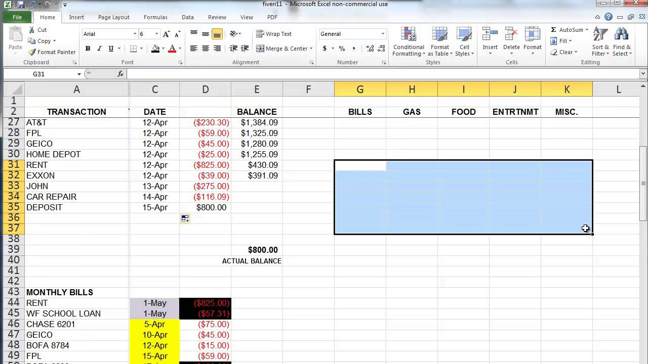 How To Use A Spreadsheet To Budget Within How To Use Spreadsheet For Budget Best Microsoft Excel Budgeting