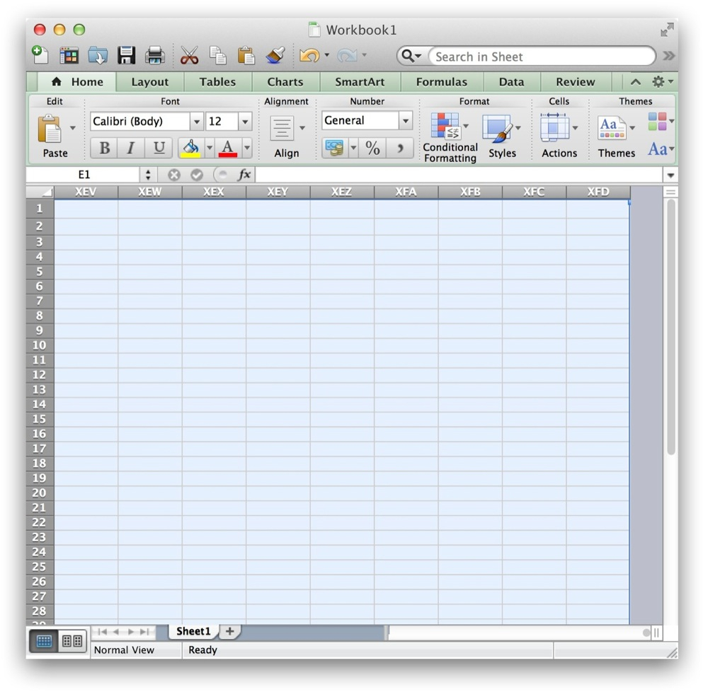 How To Use Excel Spreadsheet On Mac Inside How To Hide Cells In Excel For Mac Os X  Tekrevue