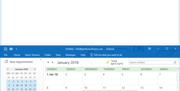 How To Use Gembox Spreadsheet In C# In Add A Calendar To A Mail Message From C# / Vb Applications