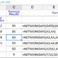How To Use Spreadsheet Google In Count Working Days Between Dates In Google Sheets