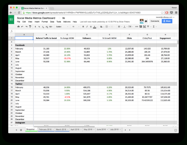 How To Work On Spreadsheet Inside 10 Readytogo Marketing Spreadsheets To Boost Your Productivity Today