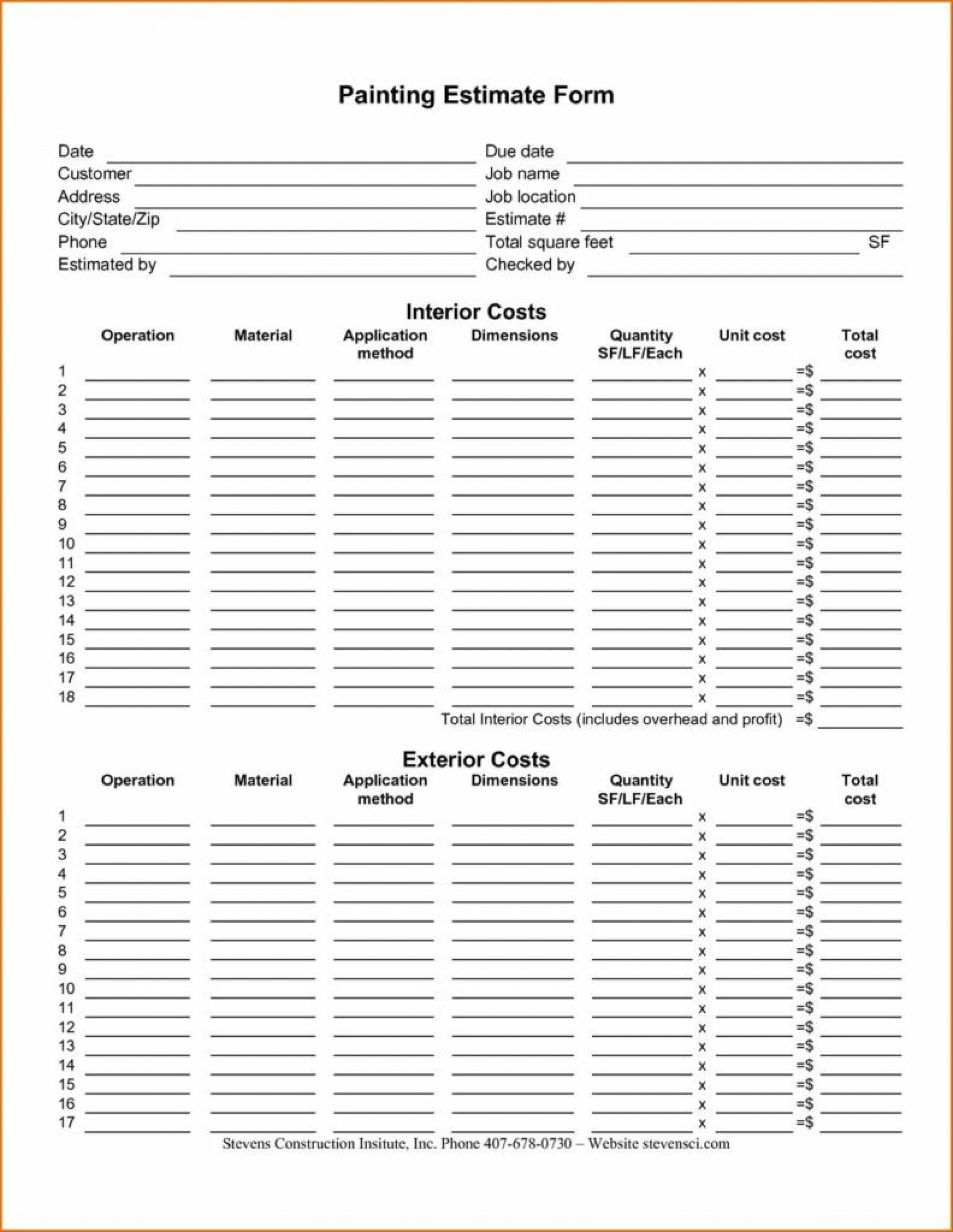 Hr Spreadsheet Templates Throughout 008 Body Shop Estimate Template Free And Hr Cover Letter Collision