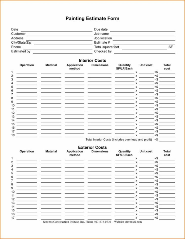 Hr Spreadsheet With Regard To Body Shop Estimate Template Free And Hr Cover Letter Collision