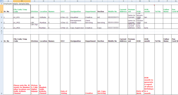 Hr Spreadsheet With The Rise And Fall Of Spreadsheets In Hr Management  Hr Spreadsheets