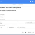 Html Spreadsheet Form In Spreadsheet Crm: How To Create A Customizable Crm With Google Sheets