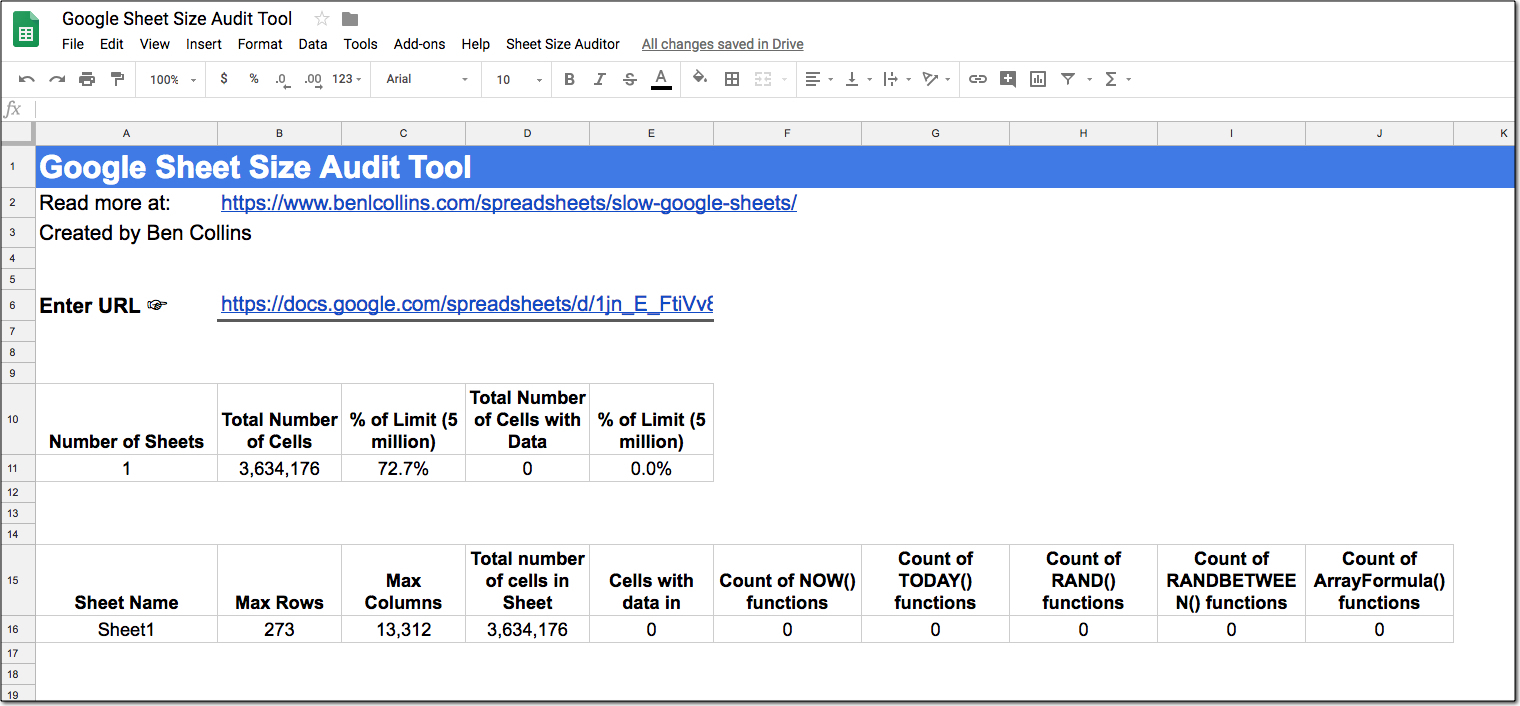 Http Docs Google Com Spreadsheet View Form Regarding Slow Google Sheets? Here Are 27 Techniques You Can Try Right Now