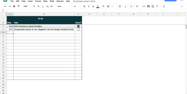 Https Docs Google Com Spreadsheets U 0 In Tutorial: How To Build Your Own Beautiful Todo List Sheet