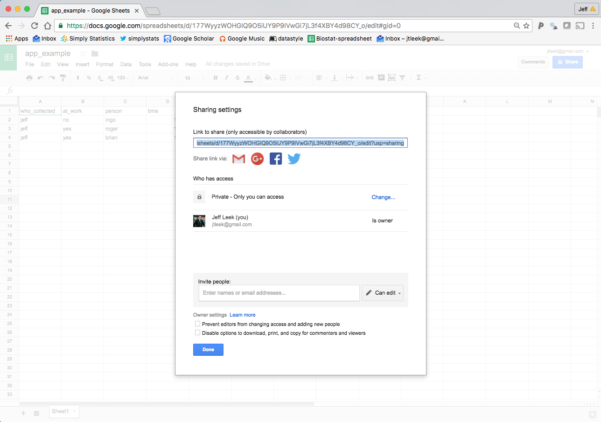 """Https Docs Google Com Spreadsheets U 0 Throughout How To Create A Free Distributed Data Collection """"app"""" With R And"""