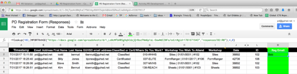 Https Docs Google Spreadsheets Edit Pertaining To Google Sheets  Vlookup Using Cell Reference With Importrange Gives