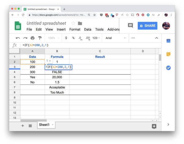 Https Docs Google Spreadsheets Edit With How To Use Google Spreadsheet If Functions
