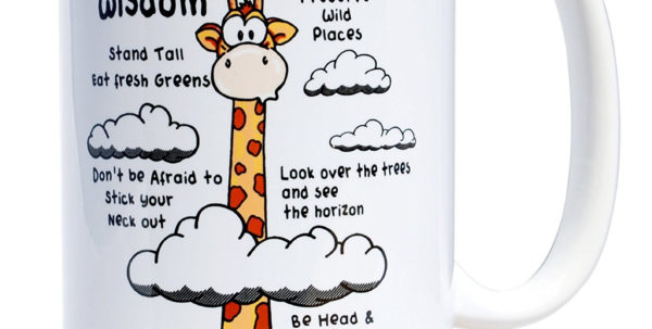 I Hate Spreadsheets Mug Intended For Giraffe Wisdom: A Fun Mug For Tall People  The Art Of Tall
