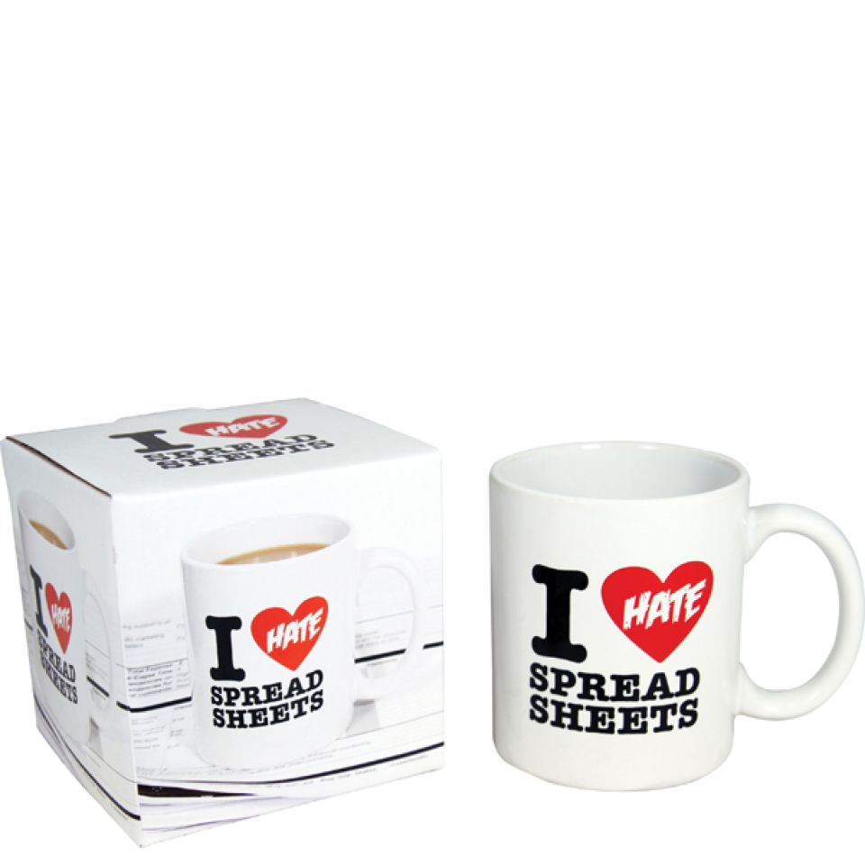 I Hate Spreadsheets Mug With Regard To I Hate Spreadsheets Mug  Probikekit