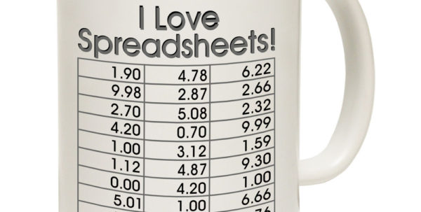 I Love Spreadsheets Gifts Inside I Love Spreadsheets Tea Novelty Accountant Boss Mug Birthday Office