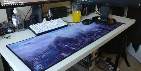 I Love Spreadsheets Mouse Mat Intended For The Mouse Mats Are Huge! Thanks Cig : Starcitizen