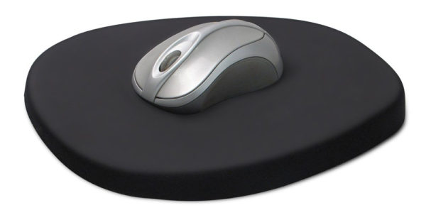 I Love Spreadsheets Mouse Mat With Shop Comfortable Ergonomic Black 8.25Inch Memory Foam And Lycra