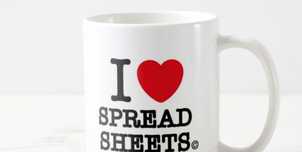 I Love Spreadsheets Mug Debenhams Intended For Buy I Heart Spreadsheets Coffee Mug Online At Best Prices Giftcart