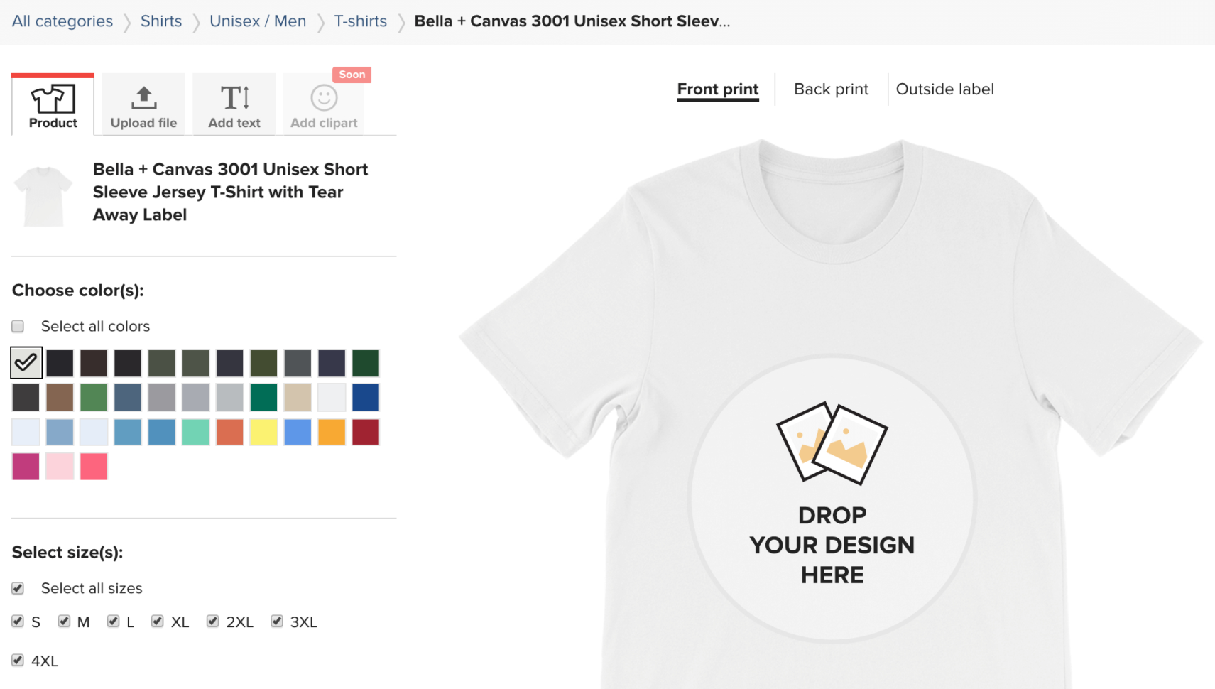 I Love Spreadsheets T Shirt Regarding 6 Things You Didn't Know The Printful Mockup Generator Could Do