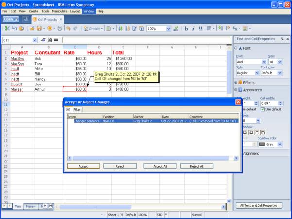 Ibm Lotus Spreadsheet In Taking A Look At Ibm Lotus Symphony Spreadsheets  Page 15