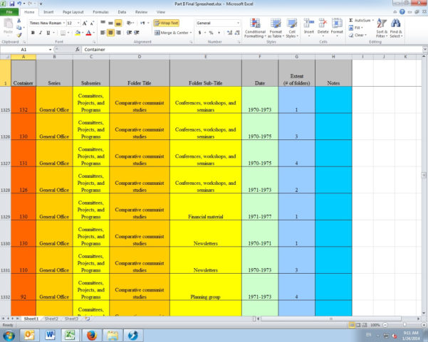 Ideas For A Spreadsheet Project With Converting Spreadsheets To Word Documents: A Walkthrough
