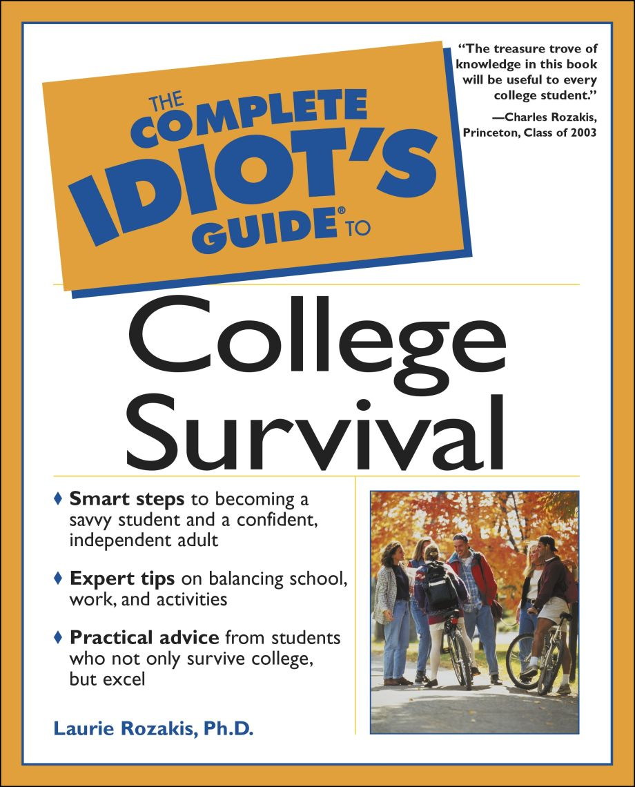 Idiot's Guide To Spreadsheets Pertaining To The Complete Idiot's Guide To College Survival  Dk Us