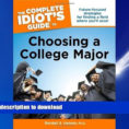 Idiot's Guide To Spreadsheets Within Read The New Book The Complete Idiot S Guide To Choosing A College