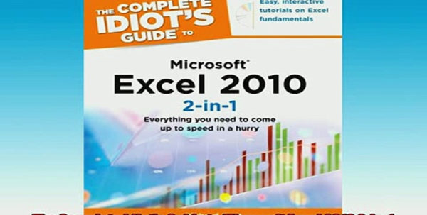Idiot's Guide To Spreadsheets For Free Download The Complete Idiots Guide To Microsoft Excel 2010 2In1 Idiot's Guide To Spreadsheets Printable Spreadsheet