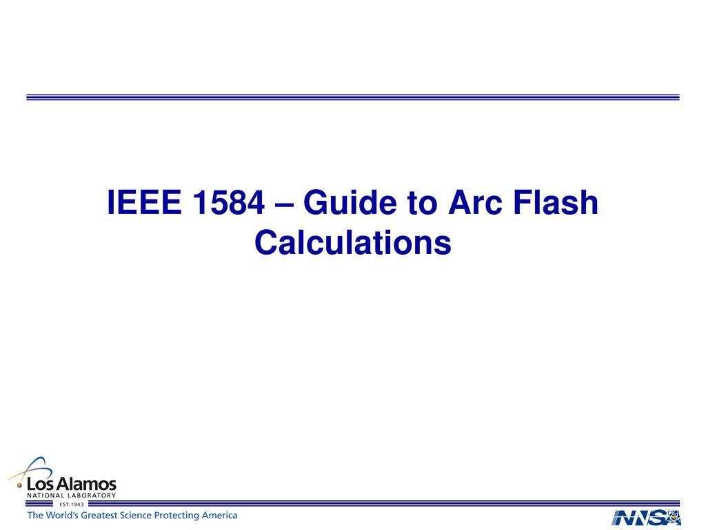 Ieee 1584 Arc Flash Hazard Calculator Excel Spreadsheet In Updates On Code Revisions  Ppt Download