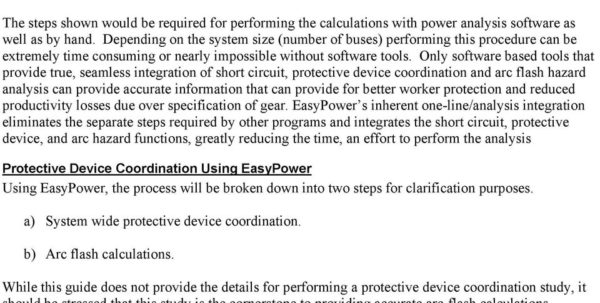 Ieee 1584 Spreadsheet Calculator Pertaining To A Guide To Performing An Arc Flash Hazard Assessment Using Power