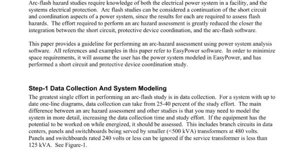 Ieee 1584 Spreadsheet Calculator Throughout Easy Powerperforming Arc Flash Hazard Assessment
