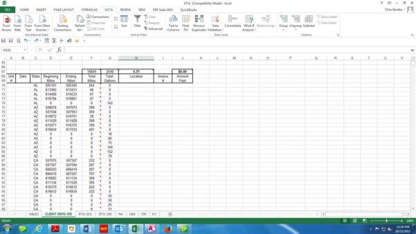 Ifta Excel Spreadsheet Regarding Ifta Software  Baratta Enterprises :: 562.437.4447